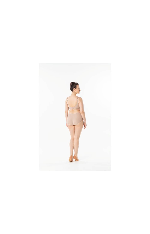 Бюстгальтер бесшовный Sermija 18019 без косточек (Тёмно - бежевый)