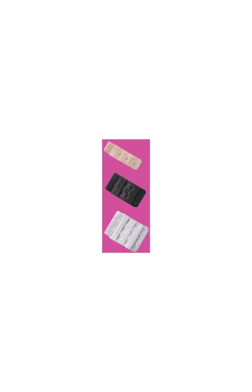 Удлинитель объема для бюстгальтеров с резиной (Черный 2 крючка long) BA-03 long (Черный)