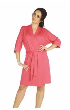 Халат женский DE LAFENSE VISA 871 (Розовый)