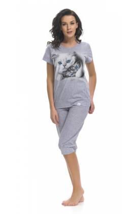 Пижама женская Dobra Nochka 9200 (Серый)