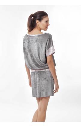 Платье-туника Bliss 1410о (Серый)