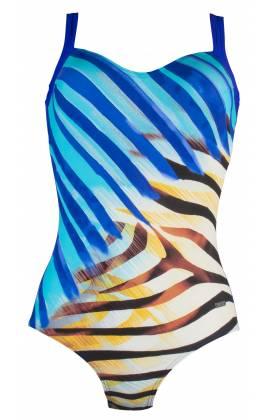 Купальник слитный Naturana (Натурана) 73118 (Синий)
