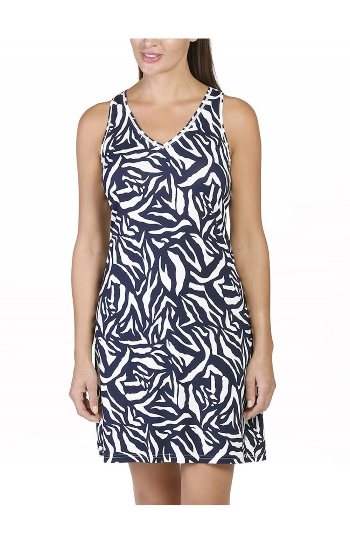 Платье пляжное Naturana (Натурана) 472066 (Синий)