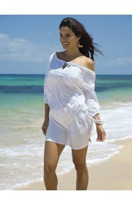 Платье пляжное Ysabel Mora 85505 (Белый)