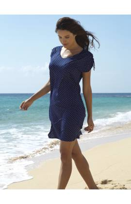 Платье пляжное Ysabel Mora 85507 (Синий)