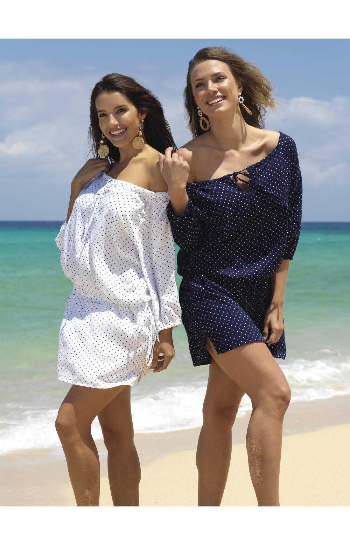 Платье пляжное Ysabel Mora 85505 (Синий)