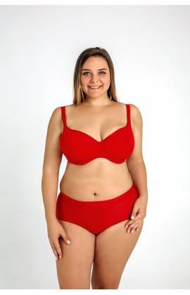 Бюстгальтер с гладкой чашка Sermija 169-16 (Красный)