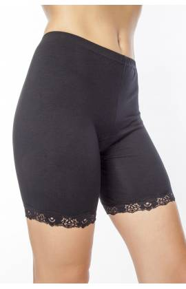 Панталоны хлопок Лолита 008 (Черный)