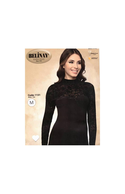 Сорочка с длинным рукавом IRA 1131 (Черный)