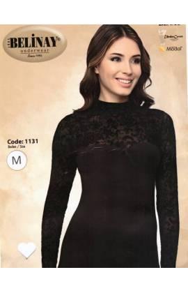 Сорочка с длинным рукавом IRA 1131 (Бордовый)